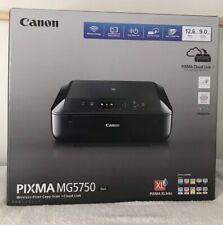 Canon PIXMA MG5750 All-in-One Wireless Inkjet Printer - Black (0557C006AA)