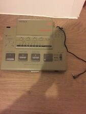 SONY RM-E33F PAL VIDEO EDITING CONTROLLER Untested