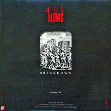 "400 Blows Breakdown / Jive 69 12"" Mint Uk Import Electronic 1985 Edm Funk"