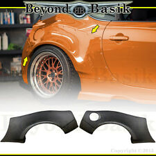 2013-2017 86 GT FT BRZ Scion FRS FR-S 4 Pc REAR Fender Flares PP Body Kit