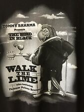 Tommy Bahama Tee Shirt Relax Series Walk The Lime Black Men's Small NWOT