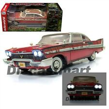 AUTOWORLD 1:18 1958 PLYMOUTH FURY CHRISTINE FOR SALE / JUNK YARD VERSION AWSS119