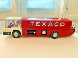 Vintage Texaco Toy Truck Gasoline Tanker Truck Pressed Steel
