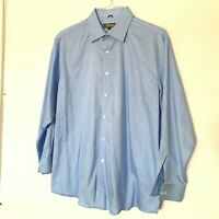 KENNETH COLE REACTION Mens Light Blue Long Sleeve Shirts Size XL