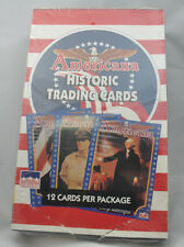 Americana Historic Trading Card Box  Sealed