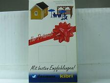 KIBRI h0 [viessmann] cabane de jardin ou garage set pour deux variantes OVP (d1337)
