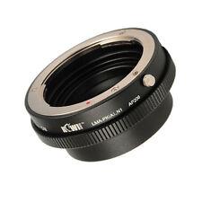 Adapter kompatibel mit Pentax K-Bajonett Objektiv an Nikon 1 Anschluss Kamera