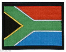 "South Africa (embroidered) Patch 5""x 4"" (13 x 10CM) approx"