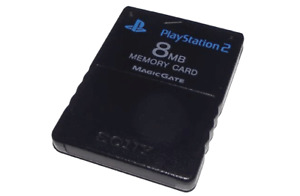 Genuine Playstation 2 PS2 8MB Memory Card Sony *Free Postage* NTSC PAL SCPH 1002