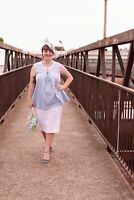 'Miss Daisy' Maternity Top - Mamas All That - Vintage Inspired Maternity Wear