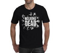 WALKING DEAD S M L XL XXL black official unisex T Shirt
