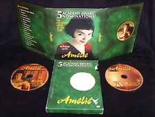 Amelie (Dvd, 2001) Mint Discs!•No Scratches!•Authentic Usa Release!