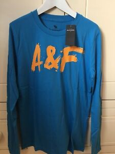 Abercrombie & Fitch Boys Long Sleeved T- Shirt - Age 11-12 Years - BNWT