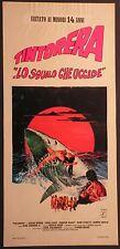 Locandina TINTORERA LO SQUALO CHE UCCIDE 1977 SUSAN GEORGE, FIONA LEWIS