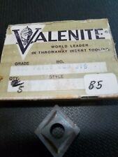5 Valenite Dnmp 643e Carbide Inserts Cutters Grade Vc55