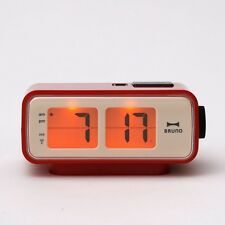 BRUNO Flip Clock Type Digital Retro Compact S RED BCR003-RD