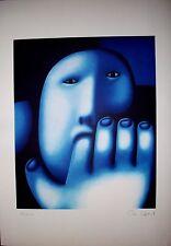 OLEG TSELKOV. LITOGRAFIA ORIGINAL FIRMADA A MANO POR EL ARTISTA EN EDIC/LIM 1992