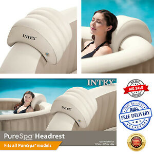 Intex Purespa Inflatable Head Rest Pillows For Spas Hot Tub Accessories NEW