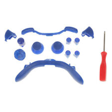 ABXY Dpad Triggers Full Buttons Set Controller Mod for for Xbox 360 Blue
