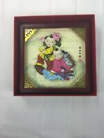 """Antique Chinese Hand Carved Deep Relief Art 6 X 6"""""""