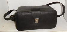 Original Benser ~ Black Leather Camera Case / Shoulder Bag...Leica
