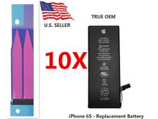 Lot 10 Genuine Battery Replacement 1715mAh For Apple iPhone 6S w/Adhesive