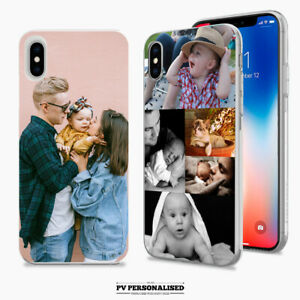 PERSONALISED PHONE CASE COVER PHOTO COLLAGE FOR APPLE IPHONE 11 7 8 PLUS X SE