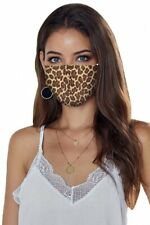 masque fashion léopard protection anti-projection