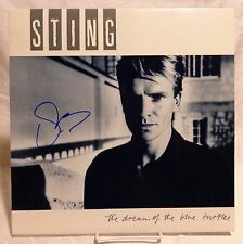 "Sting ""The Police"" Signed Autographed Album A"