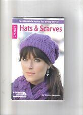 Hats & Scarves  ~  Crochet Book  ~ smaller book ~ Leisure Arts