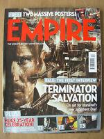 EMPIRE FILM MAGAZINE No 238 APRIL 2009 TERMINATOR SALVATION WITH 2 FREE POSTERS