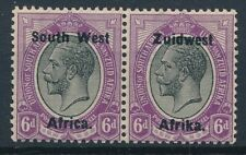 [55203] South-West Africa 1924 good bilingual pair MH Very Fine stamps