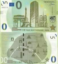 Biljet billet zero 0 Euro Memo - Tour Montparnasse Paris (028)