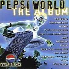 BRAND NEW FACTORY SEALED CD Pepsi World: The Album Various Artists Audio CD