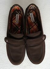 Grasshoppers Women's 7.5 Shoes Soft Brush Brown Loafers