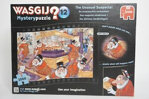 Jumbo WASGIJ No 12 The Unusual Suspects 1000 Piece Jigsaw Puzzle Bagged Complete