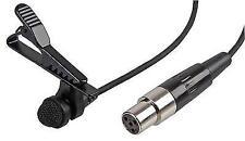 Trantec Mic-x2 Miniature Lavalier Microphone 4 Pin Mini XLR