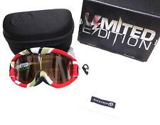 Electric EG1 Limited Edition Ski & Snowboard Goggles NEW Orange Silver Chrome