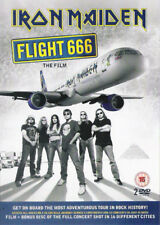 IRON MAIDEN - FLIGHT 666 THE FILM (EURO PRESSING 2 DVD's + 8 PAGES BOOK)