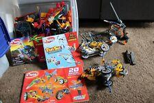 Knex Building toy Battlers Hammer Model Builder set books lot cars vehicle wheel