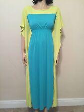 Natori Lounge Wear Robe Multicolor Full Length Size S NWT