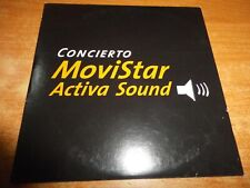 CONCIERTO MOVISTAR Activa sound CD ALBUM PROMO BARON ROJO VIDEO SOBER Vacio