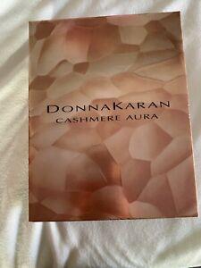 NEW Radiant Cashmere Aura by Donna Karan Eau De Parfum 3 Piece Gift Set NIB