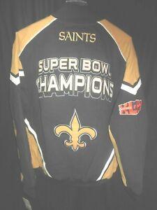 New Orleans Saints NFL Men's G-III Super Bowl Champion Jacket