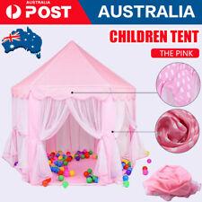 Children Kids Play Tent Fairy Princess Girls Boys Hexagon Playhouse House New