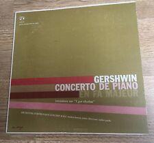 LP 25cm Gershwin Concerto de piano fa majeur I got rhythm Sondra Bianca *