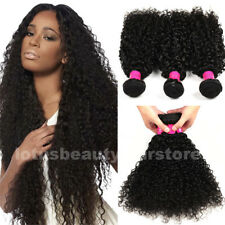 Mongolian Curly Hair 4 Bundle/200g Afro Kinky Curly Virgin Human Hair Extensions
