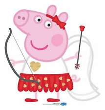 Peppa Pig Cupid Bow and Arrow Cardboard Cutout / Standee - Love Valentine