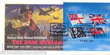 FLAG 2001-timbro di Cambridge centro Guy Gibson UFFICIALE-solo 40 fatto!!