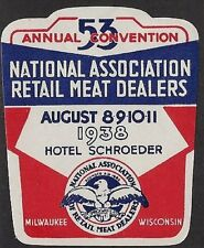 USA Cinderella: 53rd Expo Nat'l Assoc Retail Meat Dealers, Milwaukee, 1938-dw536